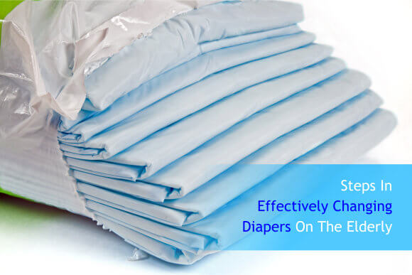 Steps In Effectively Changing Diapers On The Elderly
